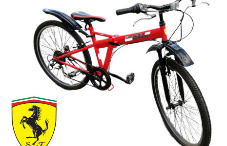 ★フェラーリ製 折りたたみ自転車 26インチ お譲り頂きました★