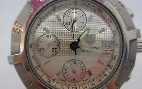 タグホイヤー エクスクルーシブ CN2110 腕時計 お譲り頂きました