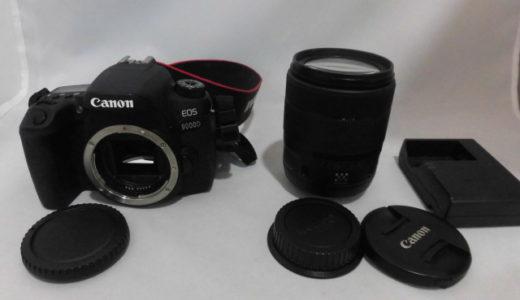 キャノン 一眼レフカメラ EOS9000D レンズセット お譲り頂きました