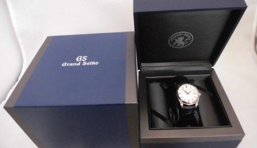 グランドセイコー クオーツ式腕時計の買取価格をお教えします