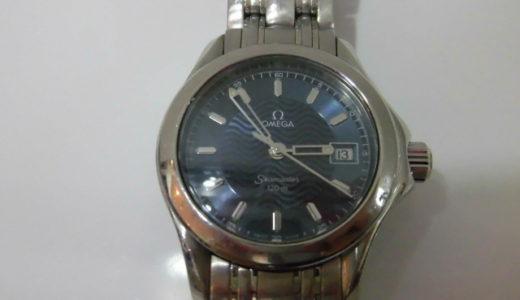 オメガ シーマスター クオーツ レディース腕時計 25818100 お譲り頂きました