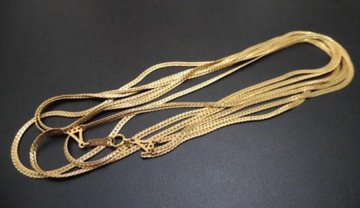 K18 ネックレス お買取価格をお教えします