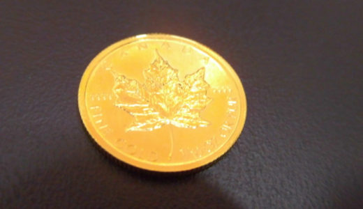 K24 メープルリーフ金貨 お譲り頂きました