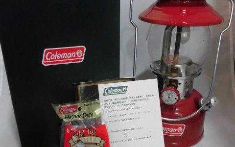 コールマン 200B703J ガソリンランタン お譲り頂きました