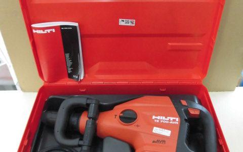 電動コンクリートブレーカー TE700-AVR 未使用品のお買取価格をお教えします!