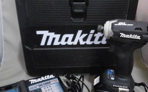 マキタ 充電式インパクトドライバ ー TD171D お譲りいただきました