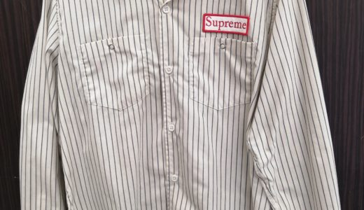 Supreme Work Shirt お譲り頂きました!