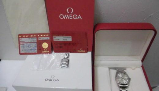 オメガ シーマスター アクアテラ 腕時計 2518.30 お譲り頂きました