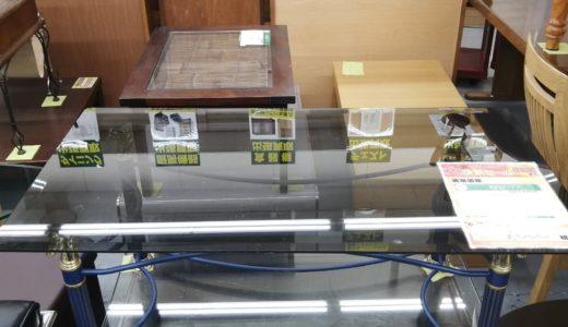 【New伊那店】今月の特価品!ガラステーブルが税込み¥7,000