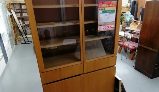 【New伊那店】今月の特価品!食器棚が税込み¥22,000