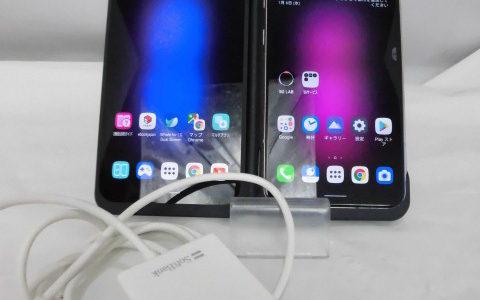 2画面スマートフォン LG V60 ThinQ 5G A001LG softbank お譲りいただきました