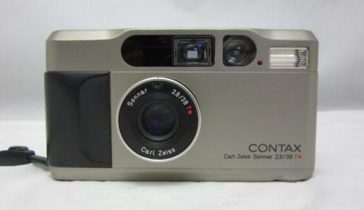京セラ コンタックス T2 コンパクトフィルムカメラ お譲りいただきました
