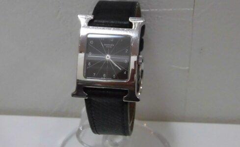 エルメス Hウォッチ HH1.210 クォーツ 腕時計 お譲り頂きました