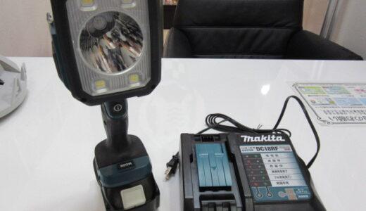 マキタ 充電式フラッシュライト 14.4V/18V ML812 未使用品 のお買取価格をお教えします