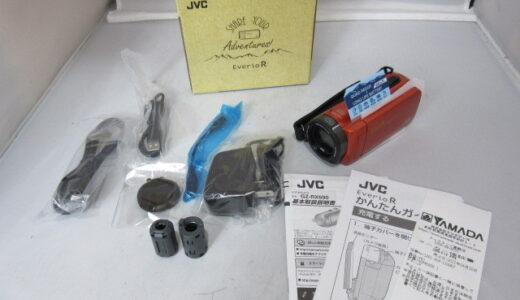 JVC フルハイビジョンビデオカメラ Everio R GZ-RX690-D お譲り頂きました