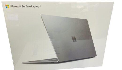 ノートPC サーフェイス ラップットップ未使用品お売りいただきました!