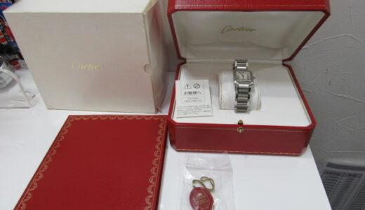 Cartier カルティエ タンクフランセーズ 箱等付属品付き 2384 のお買取価格をお教えします