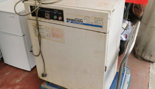 日立 2馬力給油式パッケージレシプロコンプレッサー PB-1.5EA6