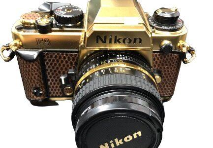Nikon(ニコン)一眼レフ 限定モデル お譲りいただきました!