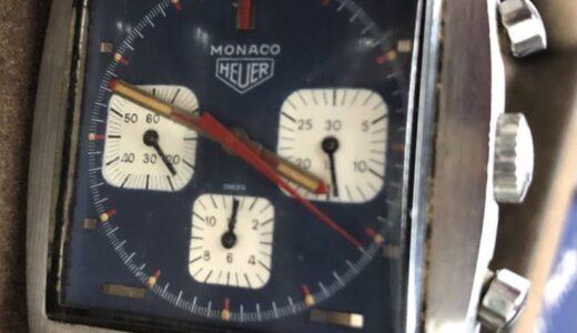 ホイヤー モナコ Ref.73633 ブルーダイヤル 手巻 お譲り頂きました!