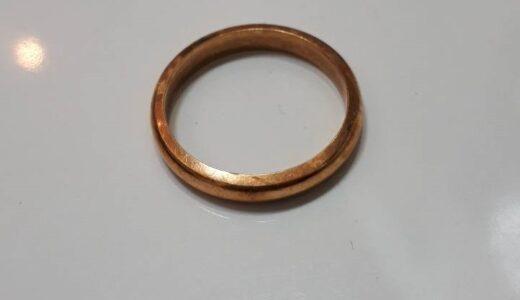 ★K18指輪 3.39g 総額15,722円分!お譲り頂きました(*^_^*)★