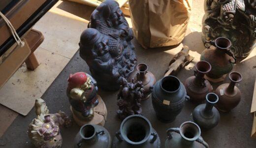 ■飯島町へ 骨董品の出張買取にお伺いしました!