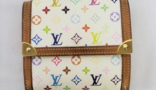 ■ルイヴィトン マルチカラー 二つ折り財布 お買取り致しました!