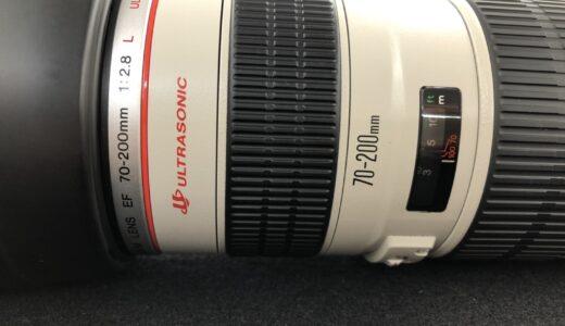 ■Canon(キャノン)EF70-200mm F2.8L 望遠ズームレンズのお買取り価格は、、、