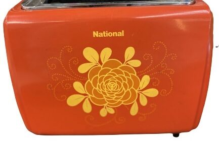 ■National(ナショナル)/昭和レトロトースターお譲りいただきました